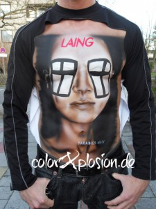 Bodypainting Cover von LAING